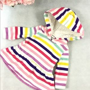 ***4/$25*** Carter's multicolored hoodie 3 months